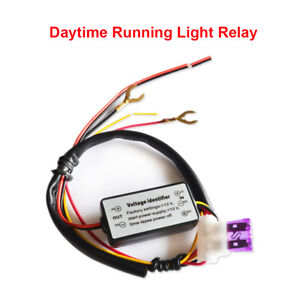 Led Drl Daytime Running Light Automatic On Off Relay Controller Module Switch