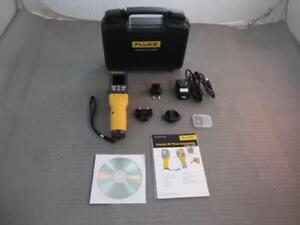 Fluke Flk vt04 Visual Ir Thermometer In Hard Case