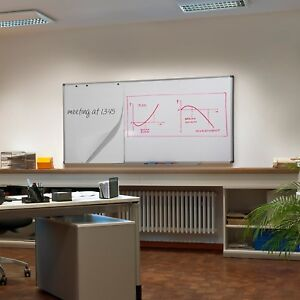 Large Office Magnetic Dry Erase Board Bulletin White Board Home Wall 48 X 36