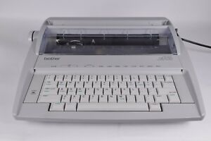 Brother Gx 6750 Electronic Typewriter Portable Daisy Wheel Correctronic