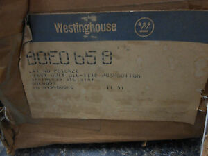 Westinghouse Pushbutton Station Pb1ek2 Type 4 Stainless Steel