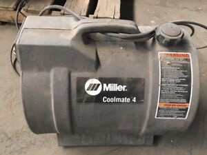 Miller Tig Welder Cooling Unit 042288 115v 5 9 Amp 50 60 Hz Phase 1 4 Gal