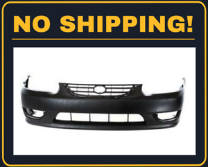 New Front Bumper Cover For Toyota Corolla Sedan 2001 2002 To1000217