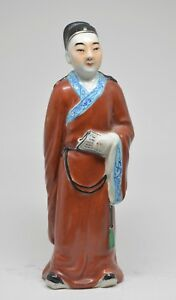 Antique Chinese Porcelain Figurine 9 5 Inches