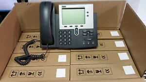 Lot Of 8 Cisco Cp 7941g 7941 Ip Phone Voip W Handset Stands