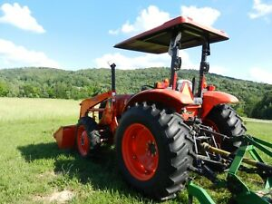 2013 Kubota M6040 Tractor Tier 3 Excellent Condition