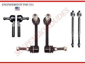6pc Front Suspension Kit 2005 2015 Toyota Tacoma Pre Runner 2wd