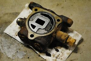 Control Valve Inlet D8nnd658aa Ford 555b Backhoe