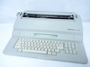 Brother Em 630 Word Processor Electronic Typewriter With Disk Writer