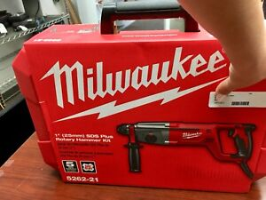 Brand New Milwaukee 5262 21 1 25mm Sds Plus Rotary Hammer Drill Kit Corded