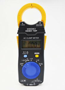 Hioki 3280 10f Clamp Hitester 1000a Hitester Ac Tester Meter Replace 3280 10
