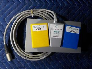 Synergetics Foot Switch For A Malis Advantage Electrosurgical Unit Mode Syn 3100