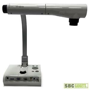 Elmo Tt 02rx Digital Document Camera Visual Presenter Projector