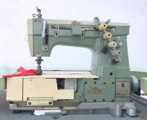 Kansai Special V 7003f 3 needle 4 thread Coverstitch Industrial Sewing Machine