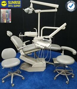 Adec 1021 Decade Dental Operatory Package W Cuspidor Matching Stool Set