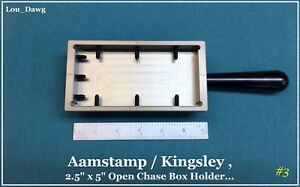 Aamstamp Kingsley Machine 2 5x5 Open Chase Holder Hot Foil Stamping Machine