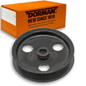 Dorman Power Steering Pump Pulley For 1999 2004 Jeep Grand Cherokee 4 0l Jp