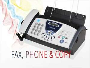 New Sealed Brother Fax 575 Personal Fax Phone And Copier
