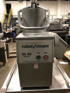 Robot Coupe Cl52 Series E Food Processor W Shredder Blade 115 Volt Works Great