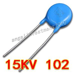 New High Voltage Ceramic Capacitor 15kv102 15000v 0 001 f 1nf 1000pf