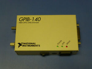 National Instruments Ni Gpib 140 Fiber optic Gpib Bus Extender