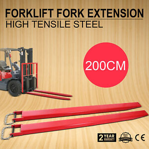 82 x4 9 forklift Pallet Fork Extensions Pair Great Useful Us Strictly Standard