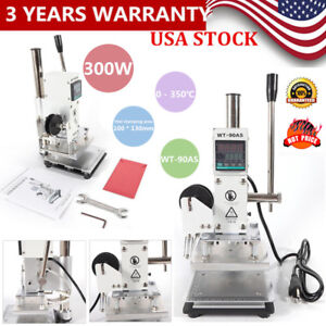 Hot Foil Digital Manual Stamping Machine Plastic Leather Bronzing Hot Sell Usa