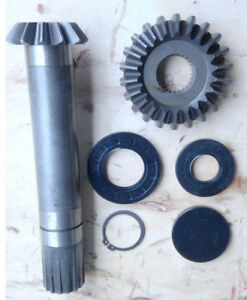 John Deere Mx5 Mx6 Replacement Output Shaft Gear Set And Seals S h Included