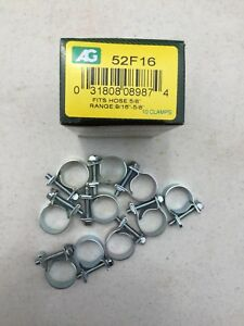 3 8 Fuel Injection Hose Clamps 10 Box