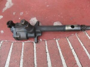 1958 Ji Case 830 Row Crop Tractor Engine Oil Pump Free Shipping A6312a