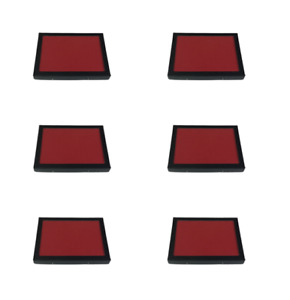 6 Pack Of 6 X 8 X 3 4 Riker Display Cases Boxes With Red Felt For Collectibles