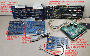 Set Of Wyko Motor Controller Cards Ec E 352 bu Power Supply