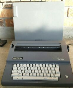 Vintage Smith Corona Spell Right Dictionary Sl 105 Electric Typewriter W Extras