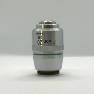 Nikon Fluor 20x 0 75 160 0 17 Microscope Objective Excellent Condition