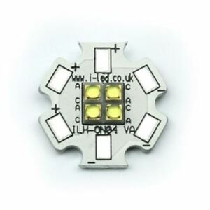 Ils Ilh on04 ulwh sc201 Oslon4 Powerstar Circular Led Array 4 White Leds 6500