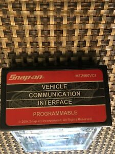 Snap On Mt2500vci Programmable Mt2500 Scanner Cartridge