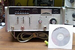 Wavetek Model 3000 Signal Generator 1 520 Mhz 0 03uv 1v Cw Am