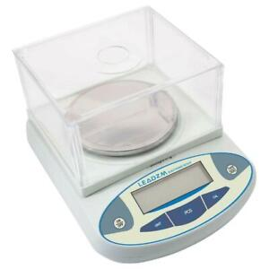 3000g 0 01g Accurate Digital Balance Laboratory Counting Weight Scale White