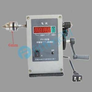 Fy 130 Electronic Manual Counting Winding Winder Machine 6mm 220v Modified