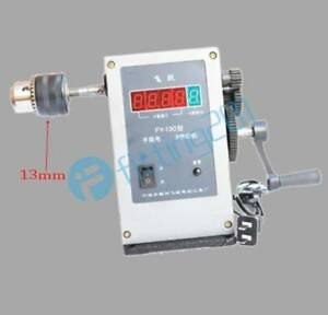 Fy 130 Electronic Manual Counting Winding Winder Machine Modified 220v 13mm