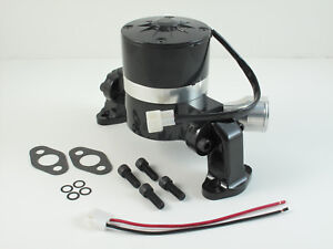 Ford Hc8030bk Sbf Electric Water Pump Cranks Out 35 Gpm Shiny Black Finish