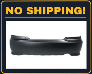 New Rear Bumper Cover Fit Honda Civic Coupe 2004 2005 Ho1100216