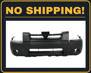 New Front Bumper Cover Fit Nissan Frontier 2001 2004 Ni1000185