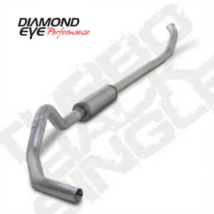 04 5 07 Dodge Cummins 5 9l Turbo Back Single 4 Exhaust Aluminized