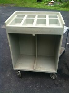 Cambro Flatware Tray Condiment Catering Cart Make Offer