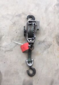 1 Little Mule Model 300 Strap Hoist Puller 1500 3000 Come Along Winch q r