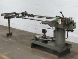 Horizontal Tube Bender Used Am8958