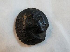 Antique 18th C Roman Plaster Intaglio Cameo