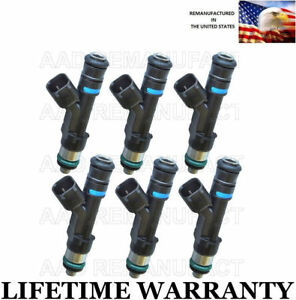 Oem Genuine Bosch Set Of 6 Fuel Injectors For 06 09 Ford Fusion 3 0l
