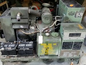 Mep 002a Military 5kw Onan Diesel Generator Single And 3 Phase